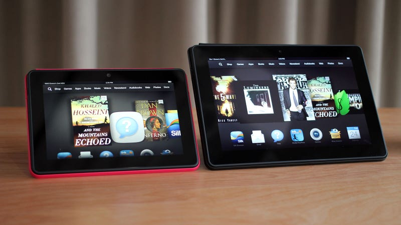 Illustration for article titled Kindle Fire HDX: Amazon's Tablet, All Growed Up At Last