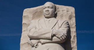 The Martin Luther King Jr. Memorial in Washington, D.C.Drew Angerer/Getty Images