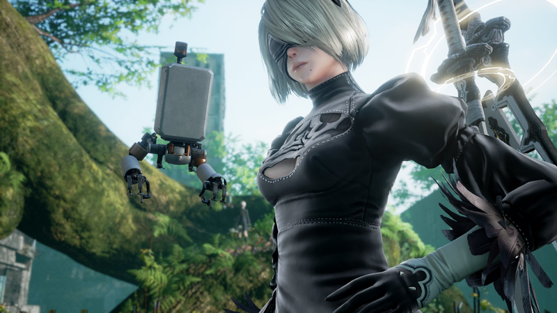Illustration for article titled Nier: Automata's 2B Is Coming To Soulcalibur VI