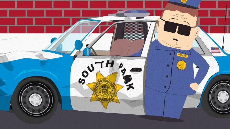 Illustration for article titled South Park's police brutality episode is more about false empathy than racism