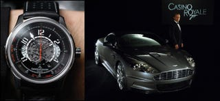 Illustration for article titled Jaeger LeCoultre Watch Unlocks Aston Martin DBS