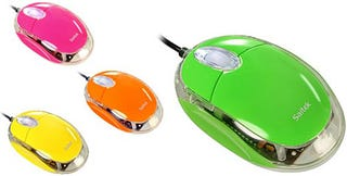 Illustration for article titled Saitek Notebook Optical Mouse: Purdy Colors, 800dpi Precision