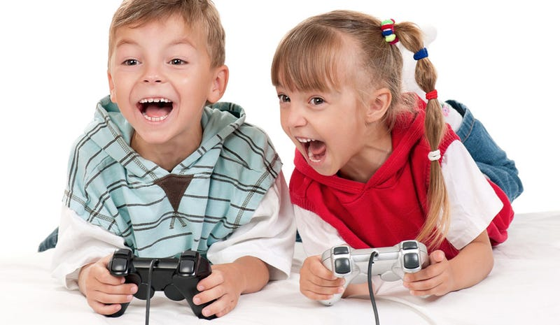 Illustration for article titled Turns Out Video Game Retailers Do A Pretty Good Job Of Not Selling Adult Games To Kids