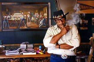 Illustration for article titled The Sports Paintings Of Ernie Barnes