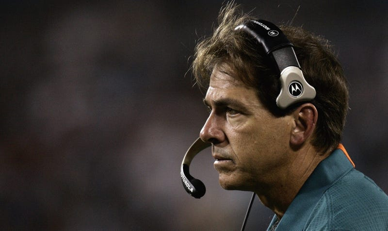 """Illustration for article titled """"I'm A Grown-Ass Man!"""": How Miami Trolled The Hell Out Of Nick Saban"""