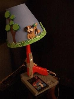 Illustration for article titled DIY Duck Hunt Lamp Still Has That Blasted Laughing Dog