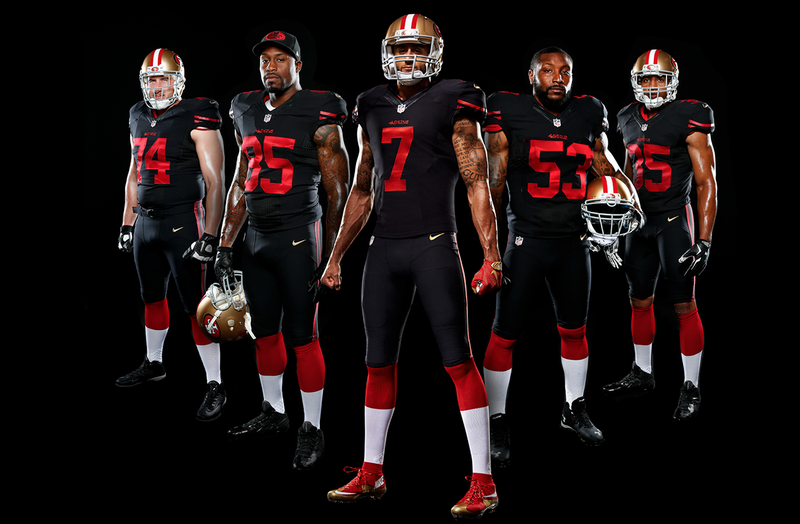 Image result for 49ers all black uniform