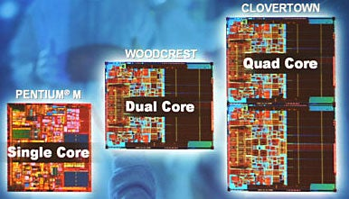 Illustration for article titled Intel's Next Trick: Quad Core Processors