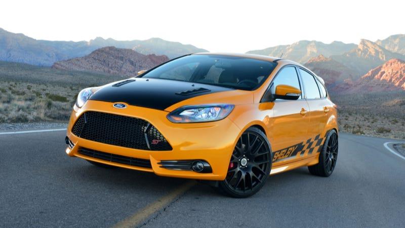 Shelby Ford Focus ST Where Is The TireMurdering Horsepower
