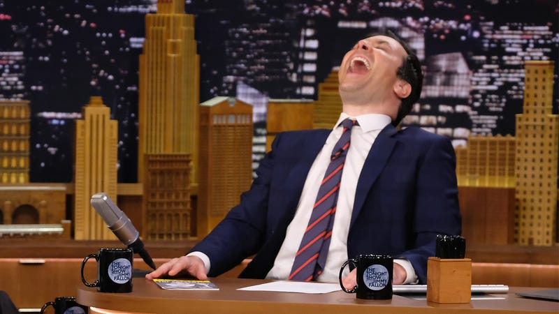 Illustration for article titled Mad With Power: A Cackling Jimmy Fallon Gloated To Viewers Last Night That He Held A 'Scrubs' Reunion Without Anybody Around Just For His Own Personal Amusement