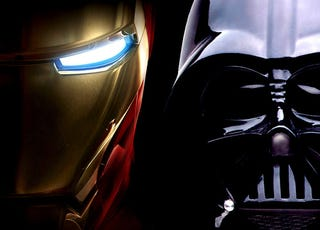 Illustration for article titled 38 Reasons Why Iron Man is Cooler than Darth Vader