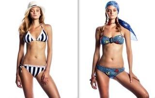 Illustration for article titled Jessica Simpson Shows Bikini Line; Condé Nast Sues Blogger