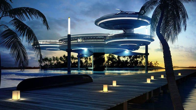 El hotel submarino de las Maldivas al que soñarás irte de vacaciones