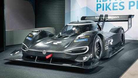 Volkswagen Says Its New All Electric Prototype Racer Is Faster Than An F1 Car
