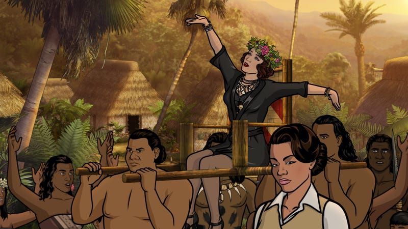 Illustration for article titled Archer's fantastic 100th episode is one of its most violently joyful installments in years