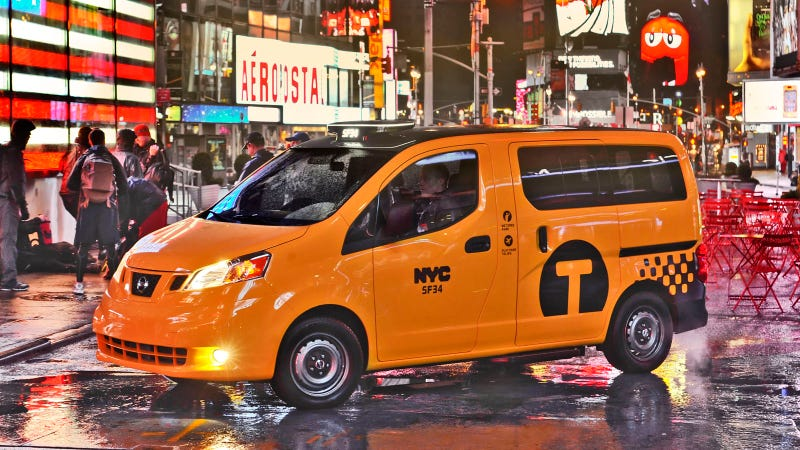 Illustration for article titled Nissan Taxi NYC Gallery
