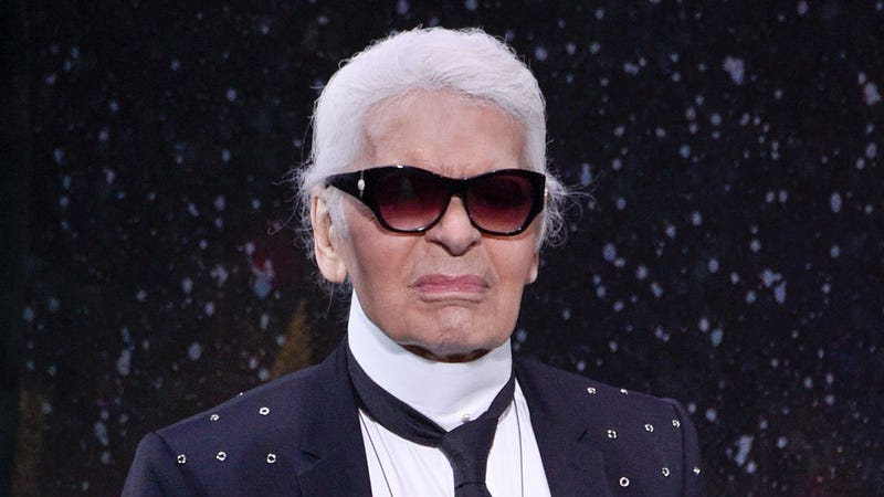 Illustration for article titled Karl Lagerfeld Horrified By Uninspired, Garish Tunnel Of Light Coming Toward Him