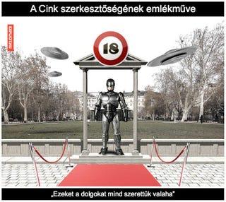 Illustration for article titled A Robotzsaruval emlékezünk a német megszállásra