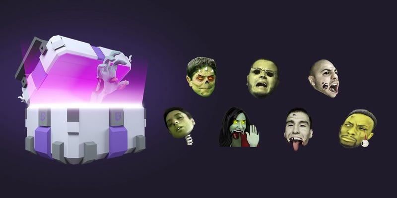 Illustration for article titled Twitch Adds Loot Boxes With Temporary Emotes