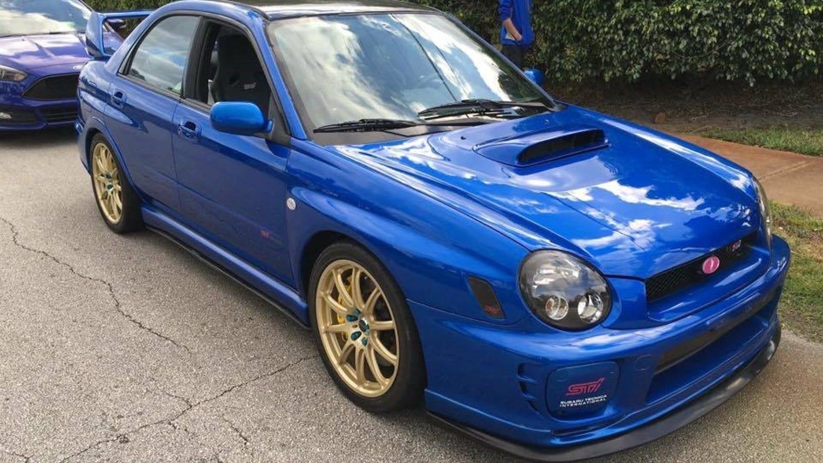 Help Us Find This Stolen 2002 Subaru WRX Bugeye [Update: Found]