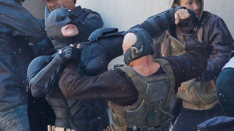 """Illustration for article titled The Dark Knight Rises will be PG-13 and """"sensual,"""" as if you needed us to tell you that"""