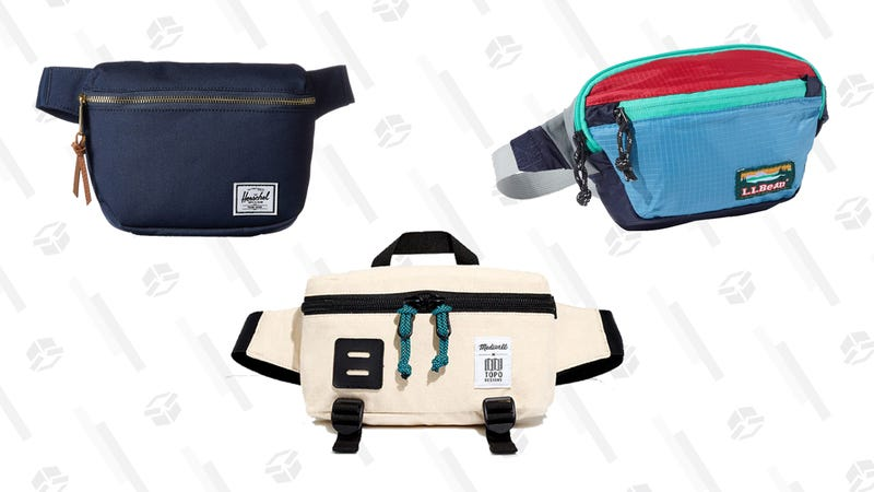 Illustration for article titled Fanny Packs Are Cool Again, And We All Just Have to Deal With It