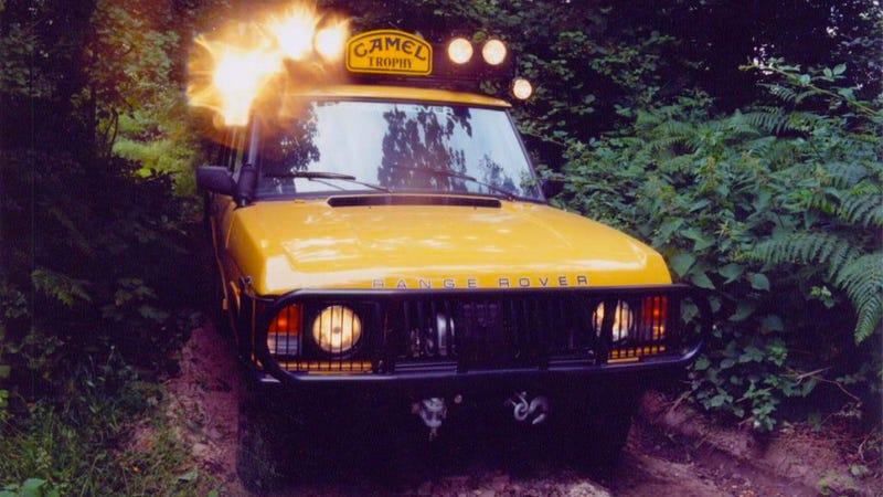 Illustration for article titled Report: Land Rover Skunkworks Cooking Up A Hardcore Off-Road Range Rover