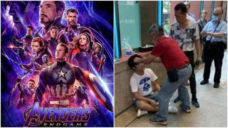 Illustration for article titled Lo golpean en la entrada de un cine por hacer spoilers de Avengers: Endgame