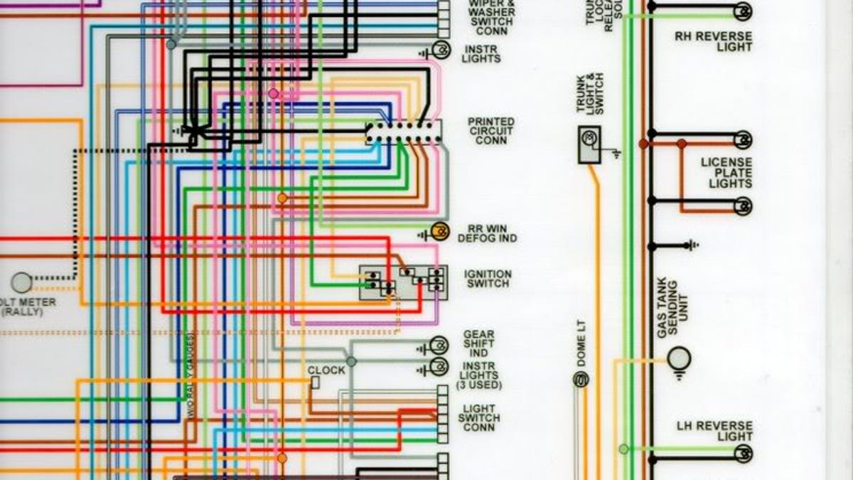 79 Trans Am Wiring Diagram And Schematics Fuel Gauge Askyourprice Me Source Camaro Electrical Information If You Ever Find Yourself Owning A 1981