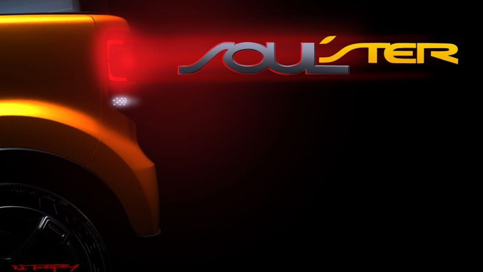 Kia Unleashes Soulster Concept Teaser
