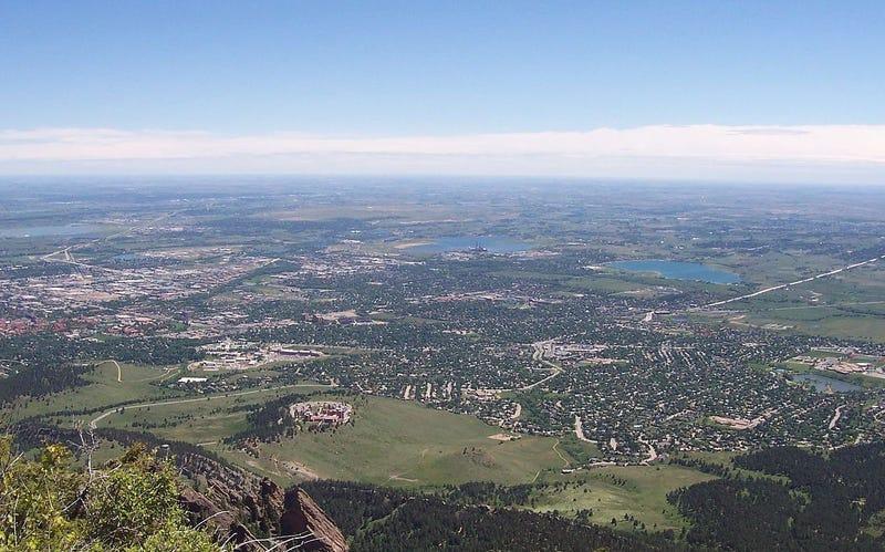 Boulder (Colorado), la ciudad más feliz de Estados Unidos según el estudio de NG. Wikimedia Commons