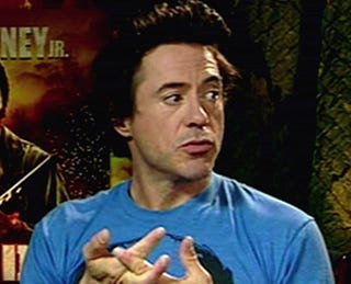 Illustration for article titled Robert Downey Jr. Discovers Genocide Has A Repeat Button