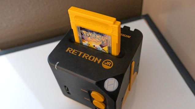 The RetroN Jr. Lets You Play All Your Tiny Game Boy Games on Your Giant HDTV