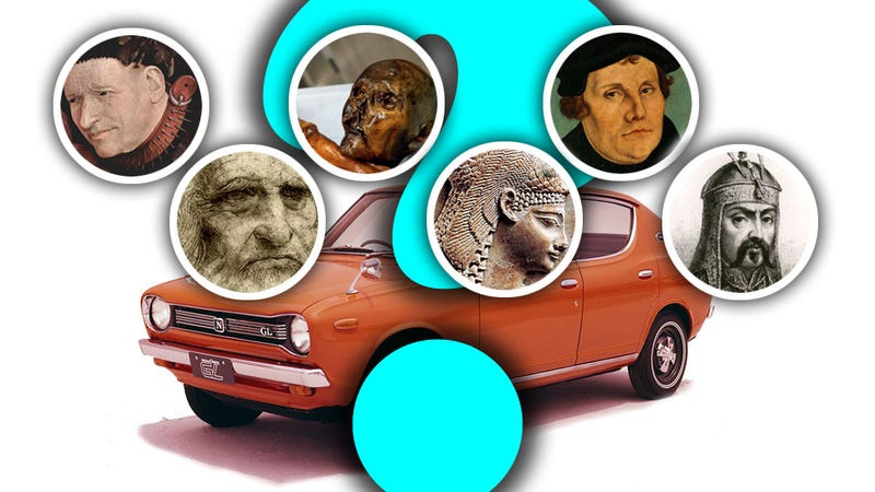 Illustration for article titled What Would These Famous Pre-Automobile People Drive?