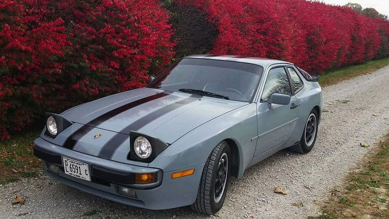 Illustration for article titled For $3,950, Could This 1987 Porsche 944 Be The Real Deal Working Man's Porsche?