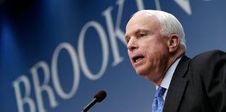 John McCain (Win McNamee/Getty Images)