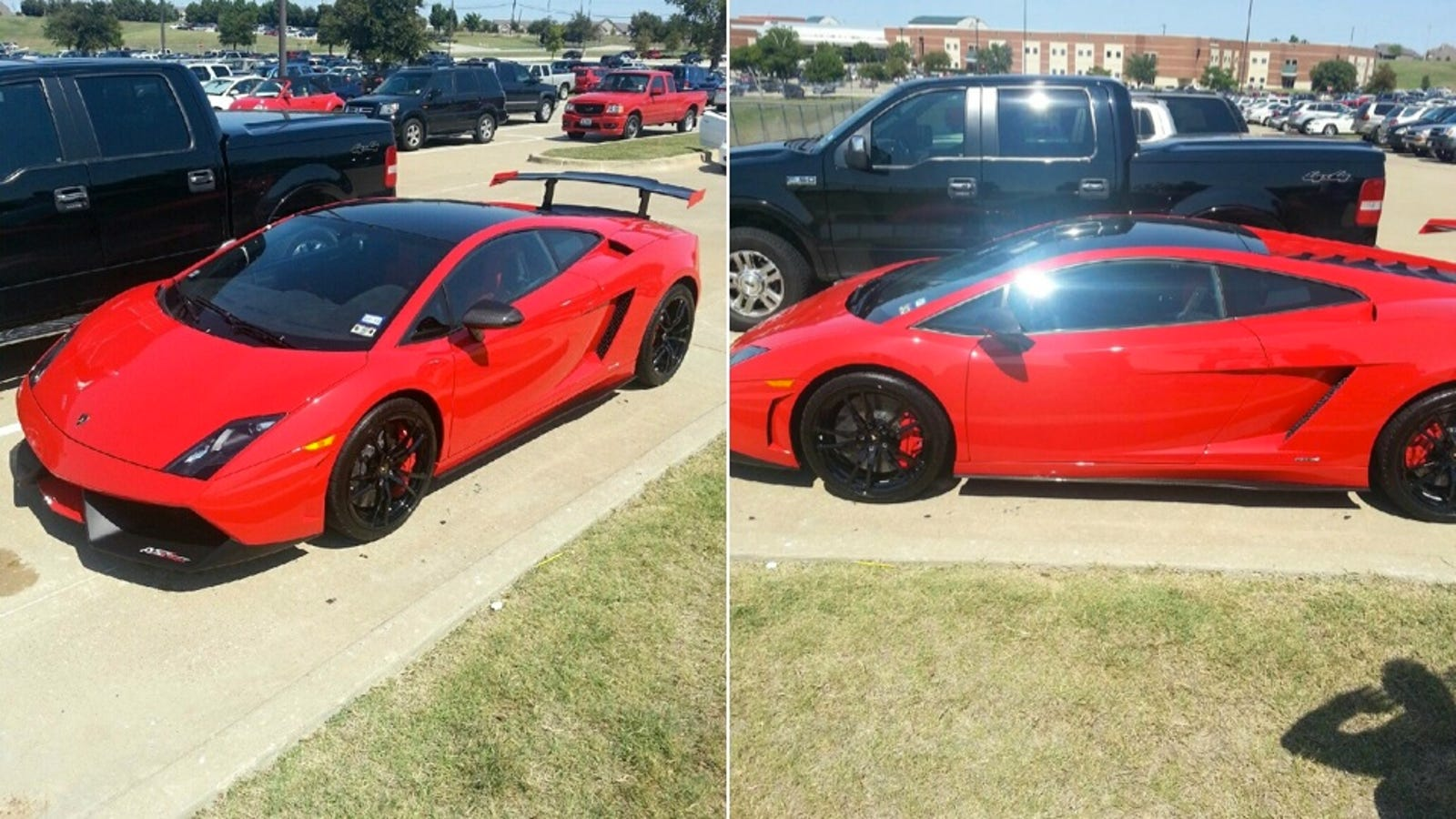 Is A 15-Year Old Texan Girl Driving This Ultra Rare Lamborghini To ...
