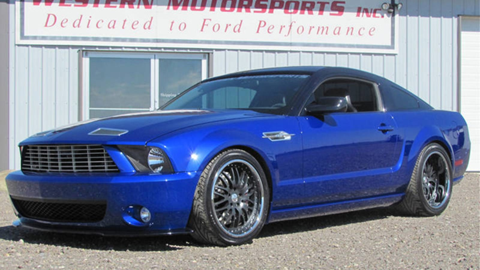 Your chance to purchase a ford mustang with the v12 heart of an