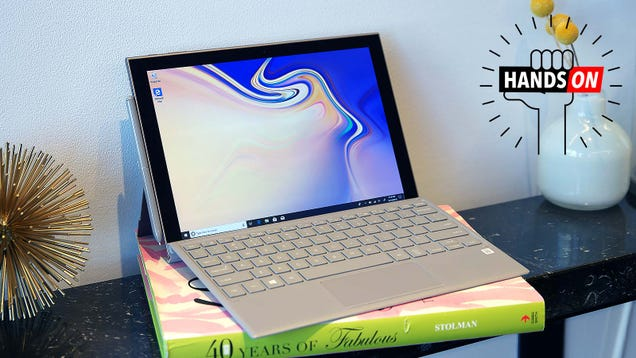 Samsung s Galaxy Book 2 Goes Hard at Mobile Productivity With Huge Battery Life Claims and LTE