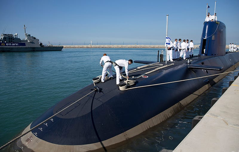 Israel's Newest And Most Advanced Submarine Is Their Last