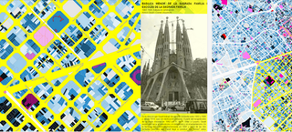 Illustration for article titled Explore Barcelona's Architectural Past With a Colorful Interactive Map