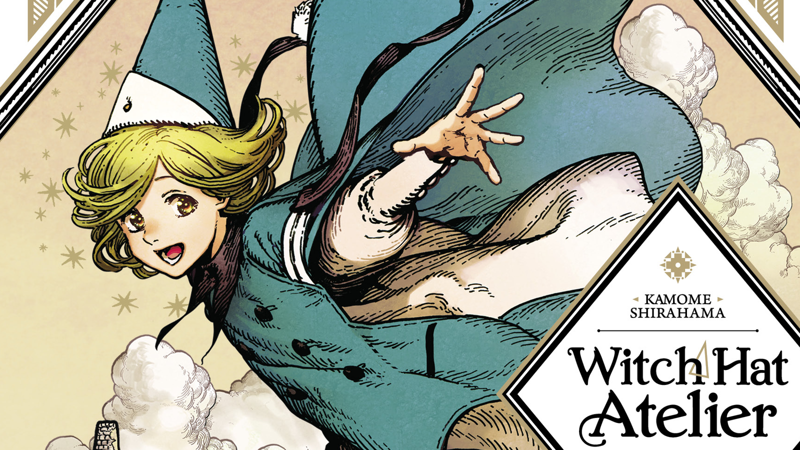 Harry Potter meets Kiki?s Delivery Service in the breathtaking Witch Hat Atelier