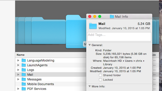 Illustration for article titled Save Space in the OS X Mail App by Disabling Attachment Downloads