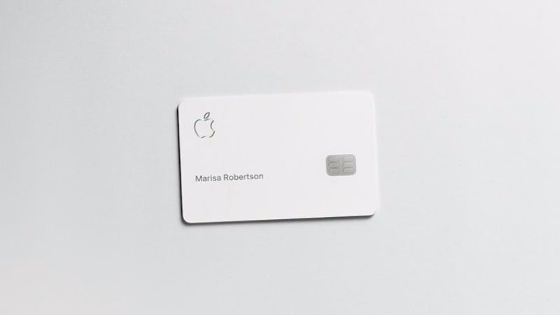 Illustration for article titled Apple Promises Its New Credit Card Is a Privacy-Protecting Beast