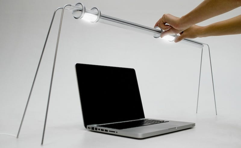 Illustration for article titled Slide These Desk Lamps Into Your Ideal Lighting Set-Up