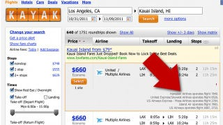 """Illustration for article titled Remains of the Day: Kayak Adds """"Hacker Fares"""" to Find Cheaper Airline Tickets"""
