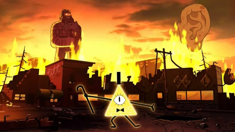 Illustration for article titled This Week's TV: Gravity Falls Ends With The Coming of the Weirdmageddon!