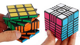 Illustration for article titled As If It Wasn't Hard Enough To Peel the Stickers Off a Rubik's Cube
