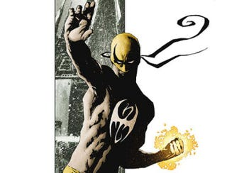 Cover of the first trade paperback of the Immortal Iron Fist series, art by David Aja, story by Ed Brubaker and Matt FractionDavid Aja / Wikipedia