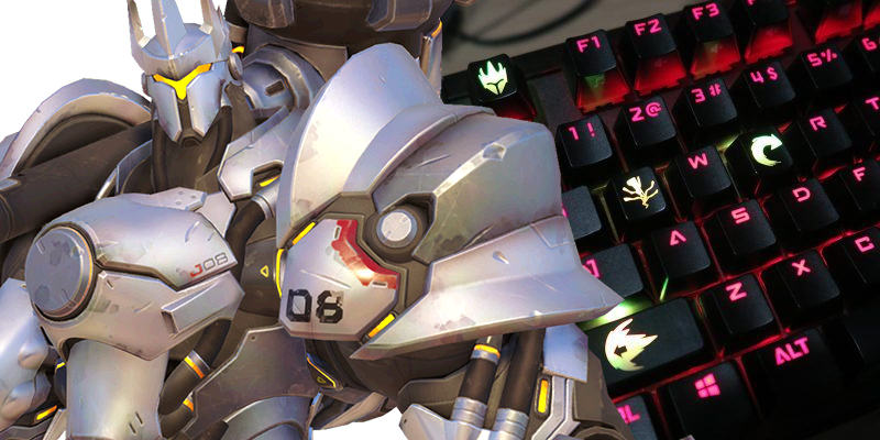 Illustration for article titled Put A Little Overwatch On Your Keyboard